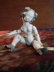 Small Lost Doll, after glazing
