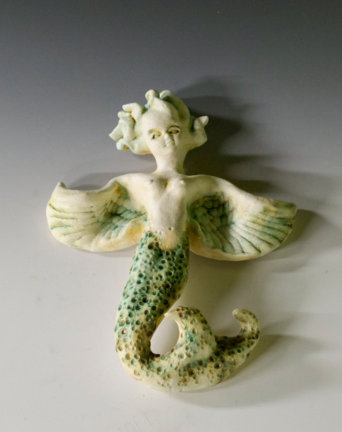 flying mermaid