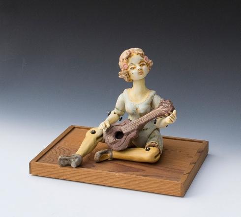 girl with uke